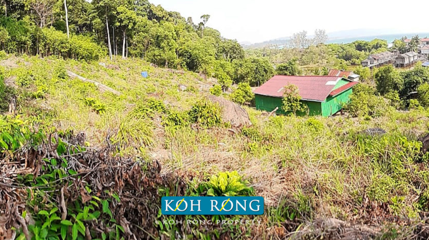Hard Title Elevated Land - For Sale Sok San Beach