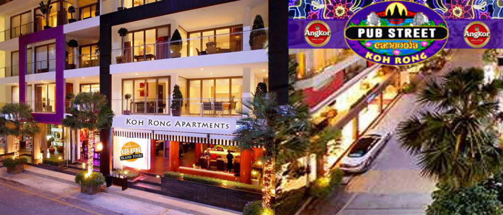 Koh Rong Pub Street